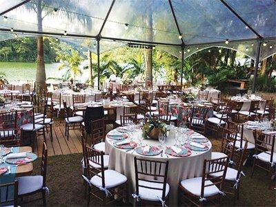 Espaço para eventos Dieters: Dois ambientes para convidados